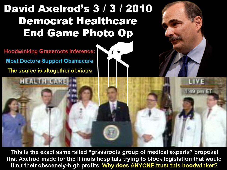David Axelrod Obamas Puppeteer